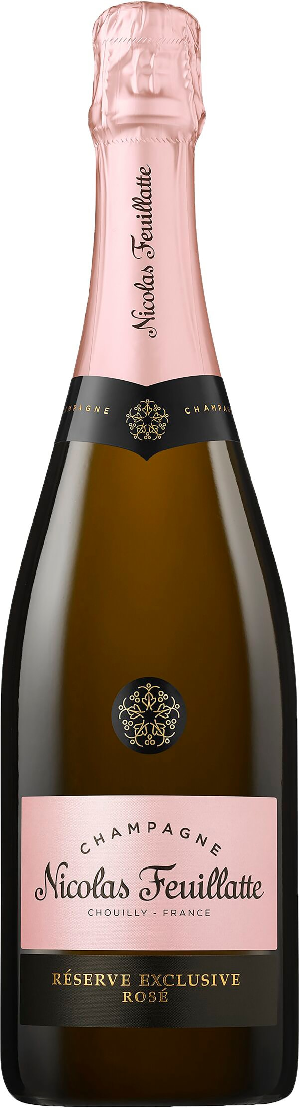Nicolas Feuillatte Réserve Exclusive Rosé Champagne Brut presentförpackning