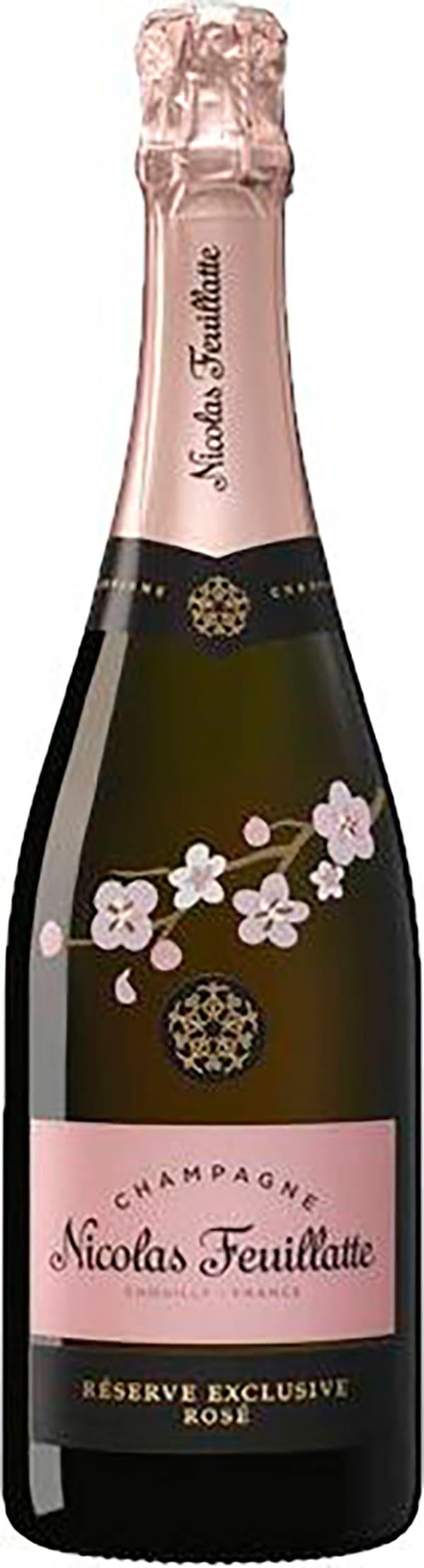 Nicolas Feuillatte Réserve Exclusive Rosé Champagne Brut
