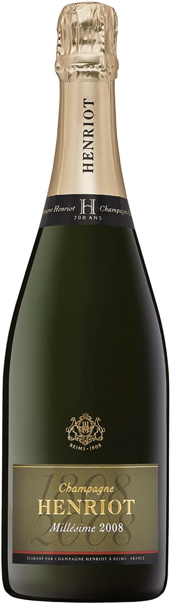 Henriot Millésime Champagne Brut 2008