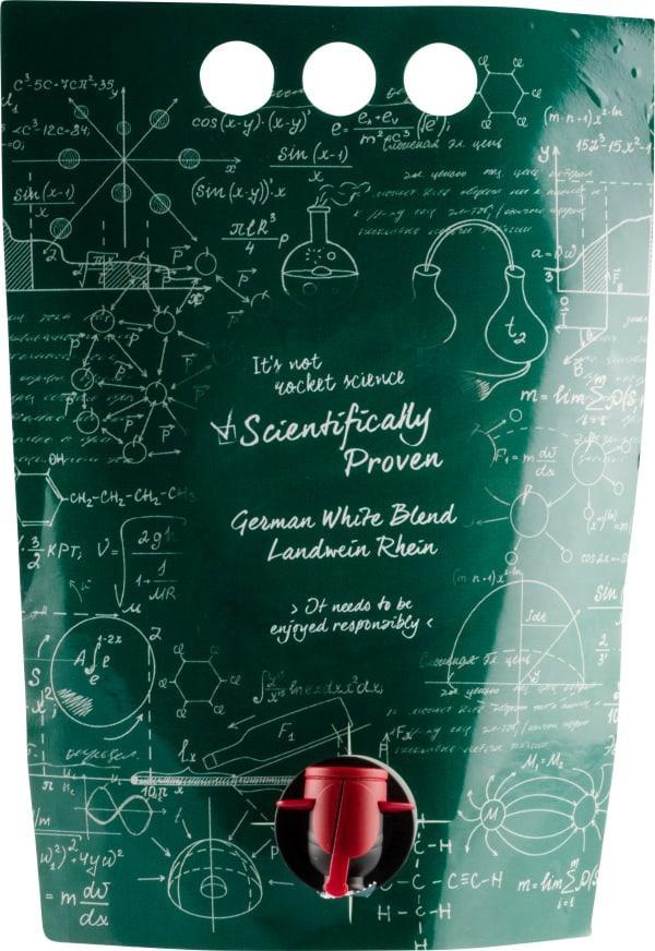 Scientifically Proven German White Blend wine pouch