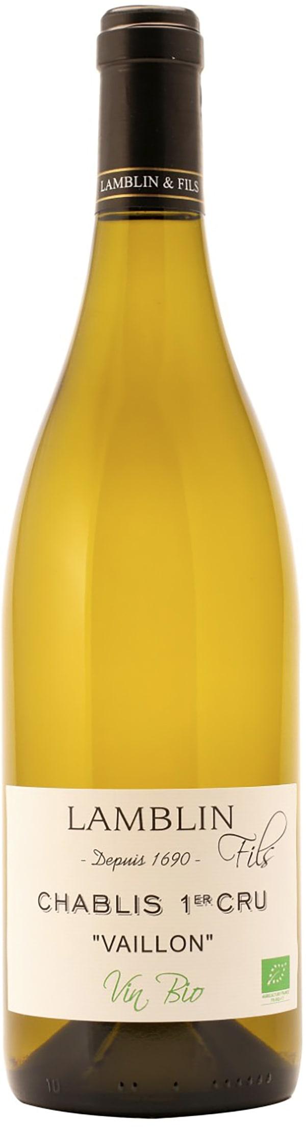 Lamblin Chablis 1er Cru Vaillon Vin Bio 2018