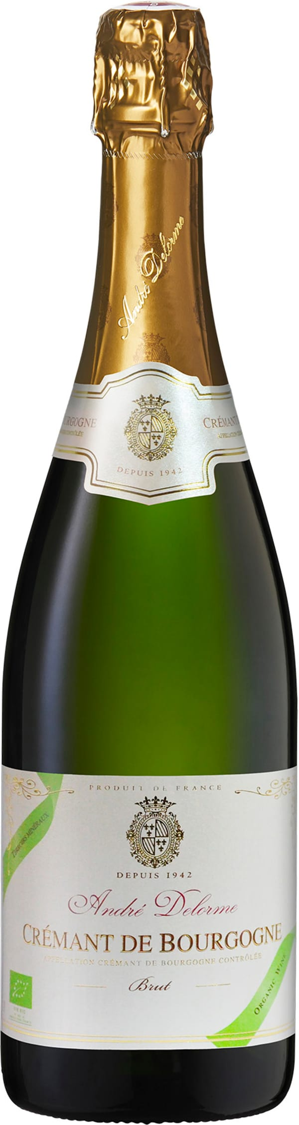 André Delorme Crémant de Bourgogne Organic Brut