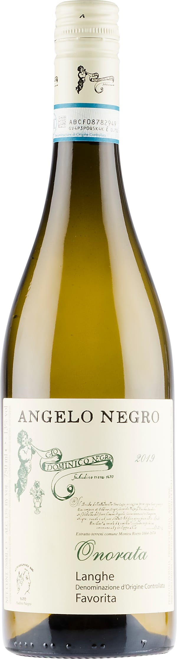 Angelo Negro Onorata Favorita 2020