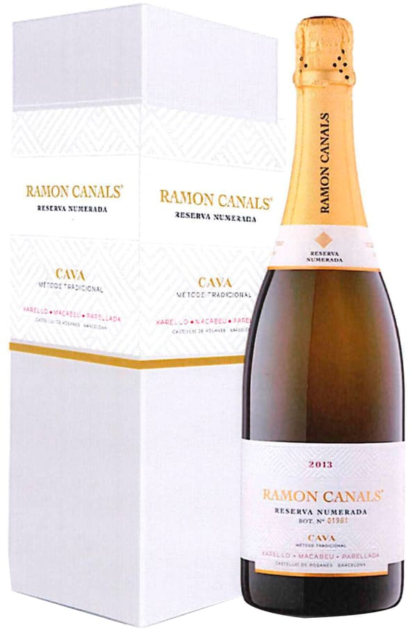 Ramon Canals Reserva Numerada Cava Seco presentförpackning