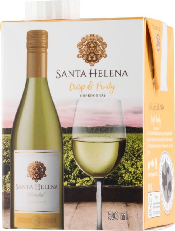 Santa Helena Chardonnay 2018 kartonkitölkki
