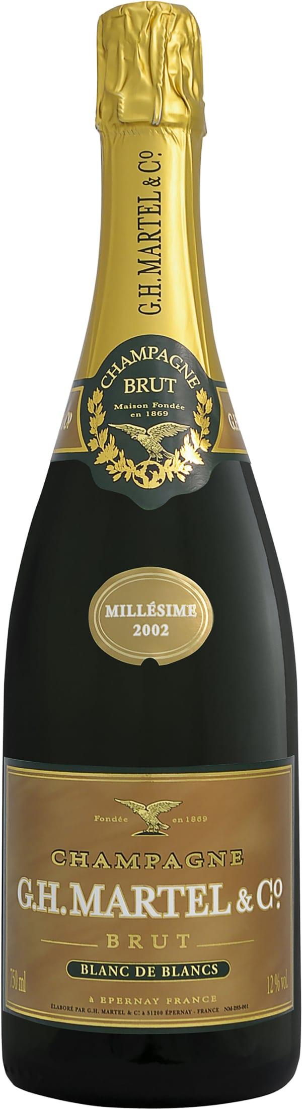 G.H. Martel Blanc de Blancs Champagne Brut 2002