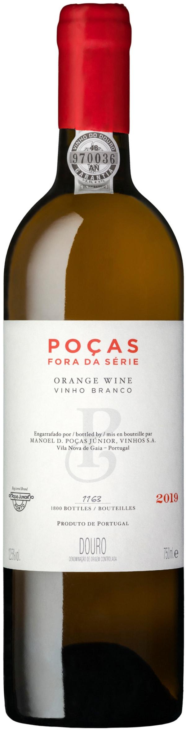 Poças Fora da Série Orange Wine 2019