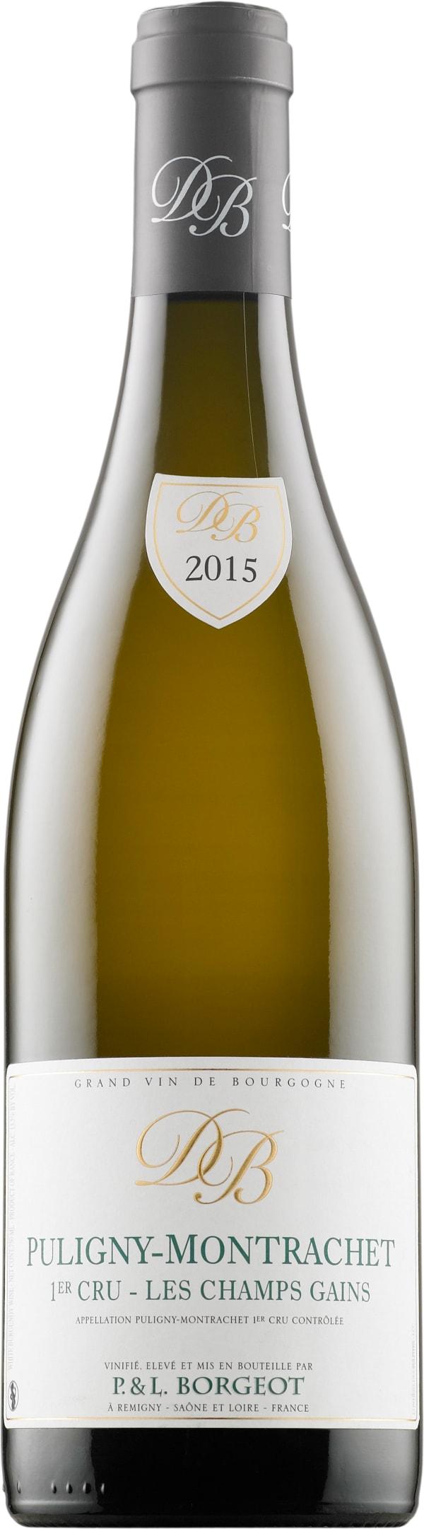 Borgeot Puligny-Montrachet 1er Cru Les Champs Gains 2015