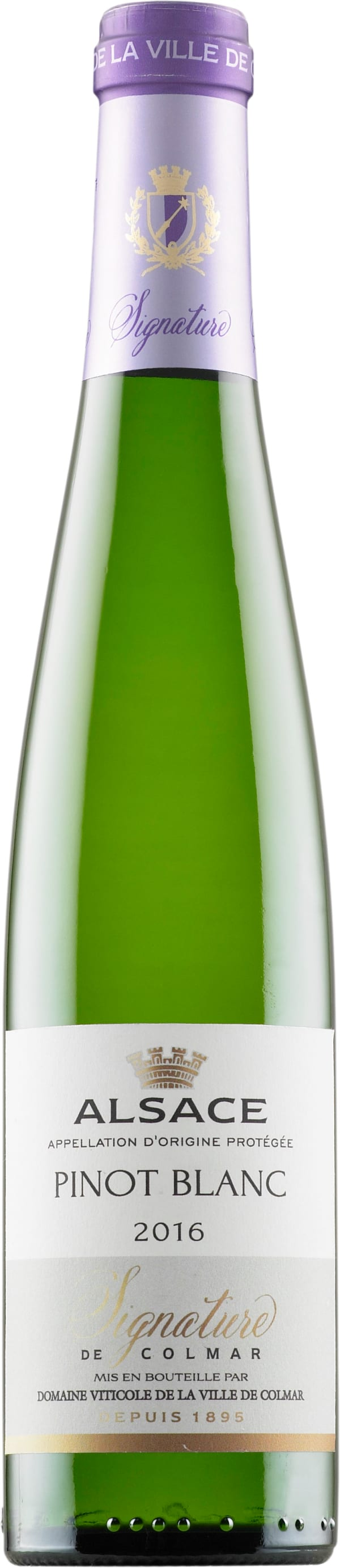 Signature de Colmar Pinot Blanc 2018