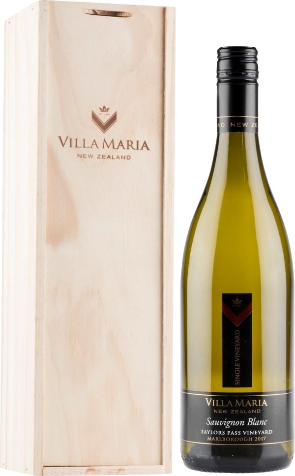 Villa Maria Single Vineyard Taylors Pass Sauvignon Blanc 2017 gift packaging