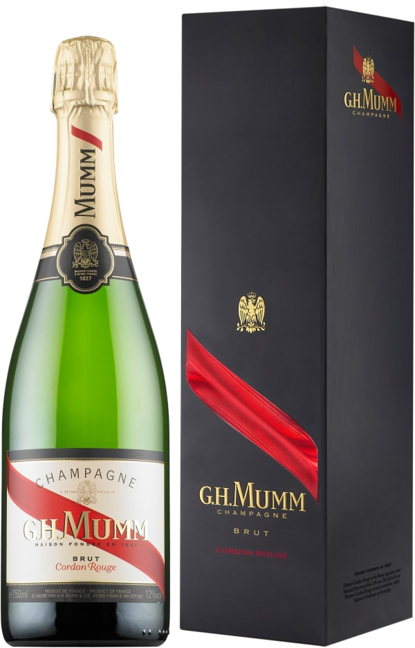 Mumm Cordon Rouge Champagne Brut lahjapakkaus