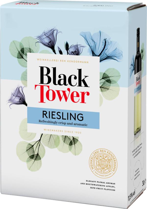 Black Tower Dry Riesling 2018 hanapakkaus