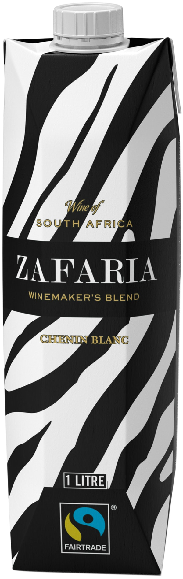 Zafaria Winemakers Blend Chenin Blanc 2019 kartongförpackning