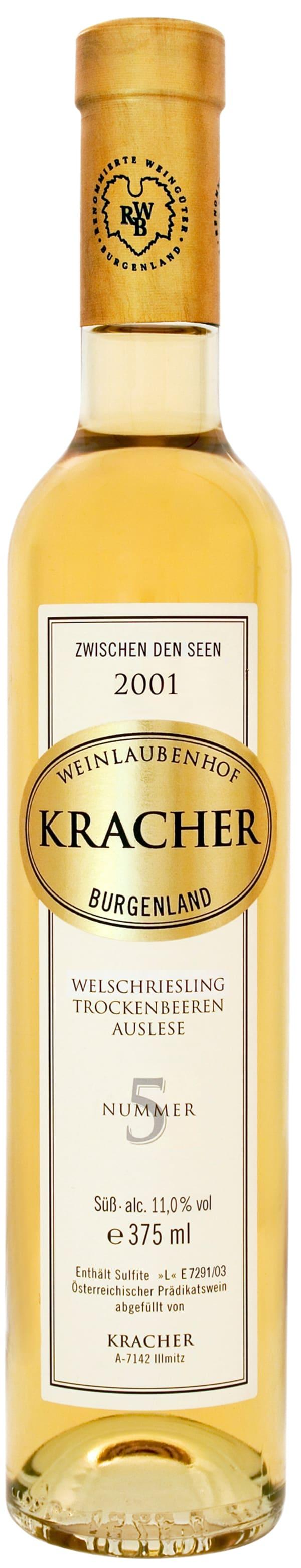 Kracher Welschriesling Trockenbeerenauslese Nummer 5 2001
