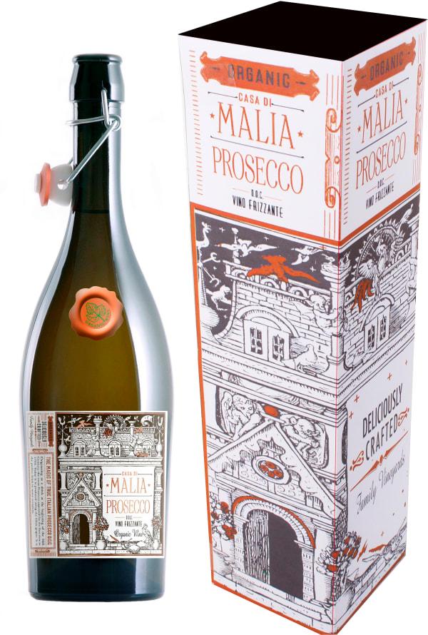Casa di Malia Organic Prosecco Frizzante gift packaging