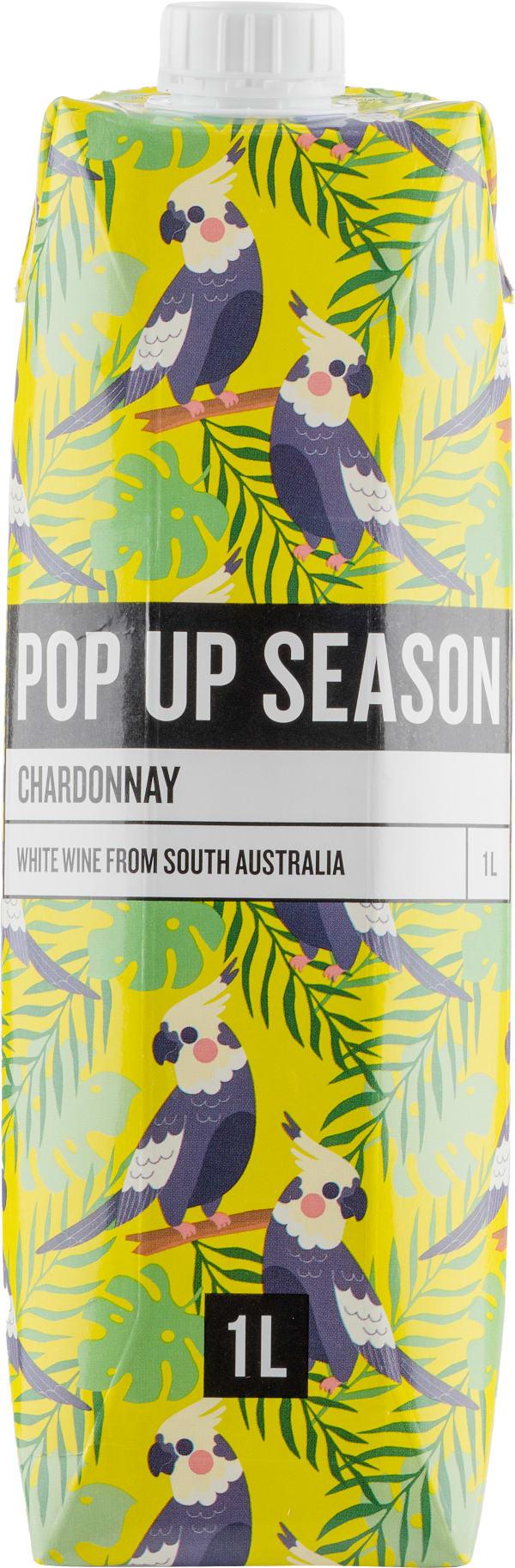 Pop Up Season Chardonnay 2018 carton package