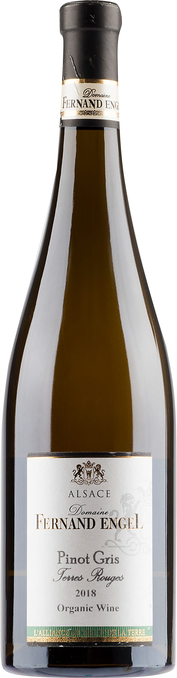 Fernand Engel Pinot Gris Terres Rouges Organic 2018