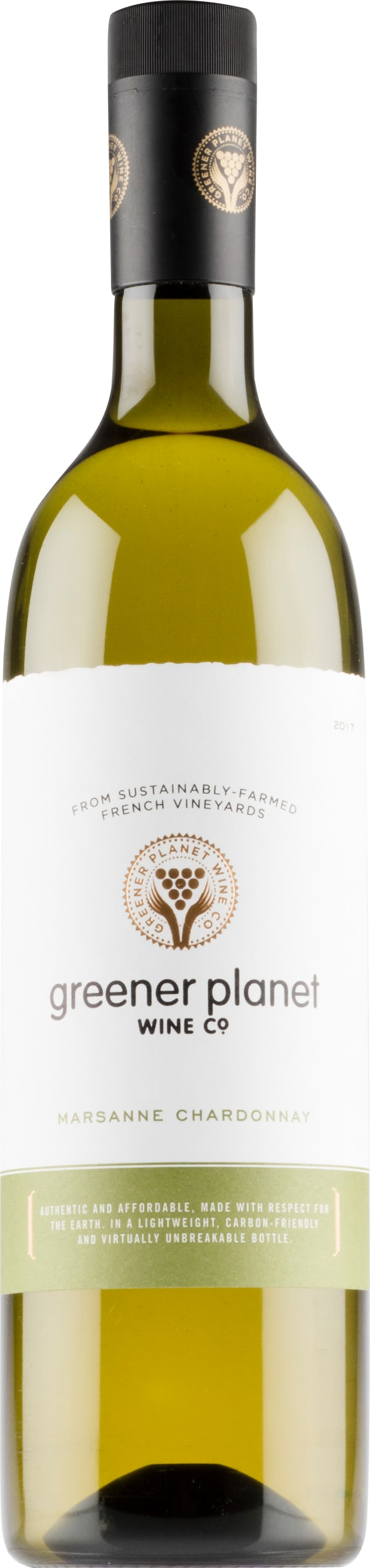 Greener Planet Marsanne Chardonnay 2018 plastic bottle
