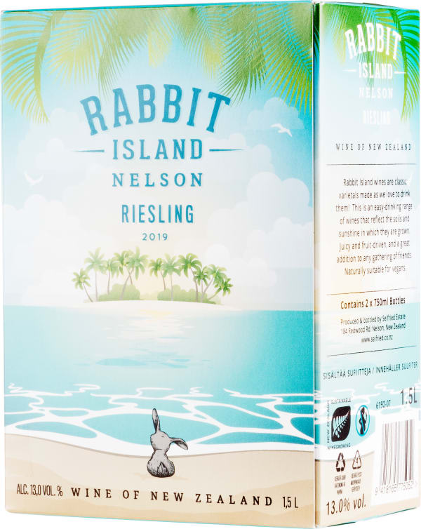 Rabbit Island Riesling 2019 bag-in-box