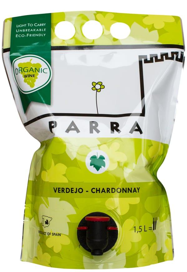 Parra Organic Verdejo Chardonnay 2019 wine pouch