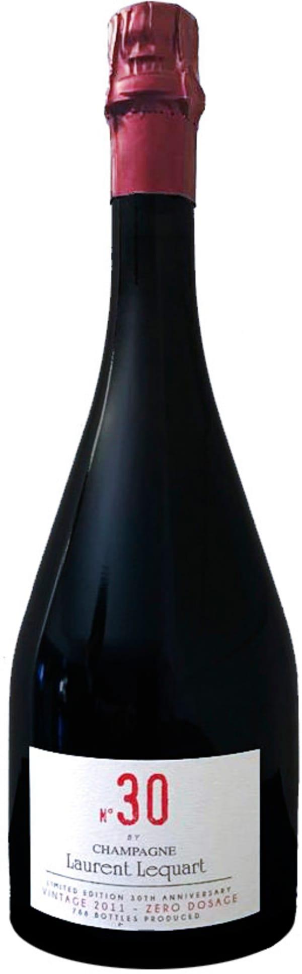 Laurent Lequart N° 30 Vintage Champagne Zéro Dosage 2011