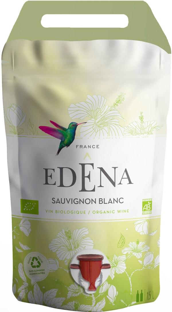 Edêna Organic Sauvignon Blanc 2020 wine pouch