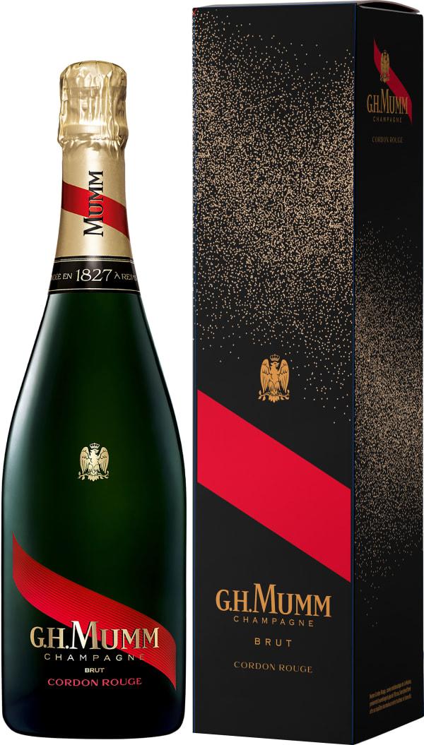Mumm Cordon Rouge Champagne Brut gift packaging