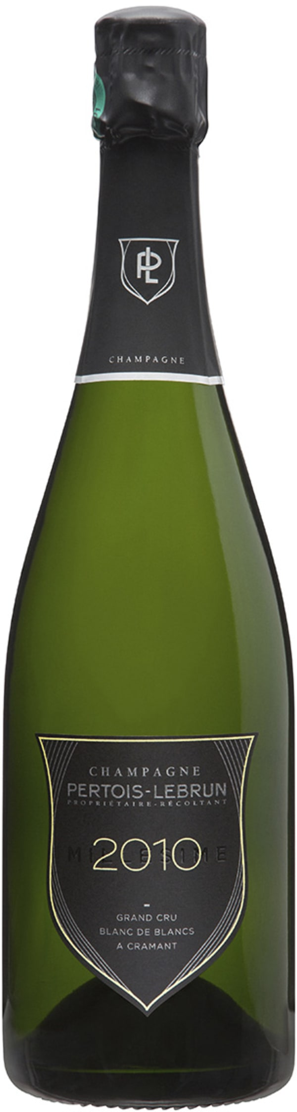 Pertois-LeBrun Grand Cru Blanc de Blancs Millésimé Champagne Extra-Brut 2010