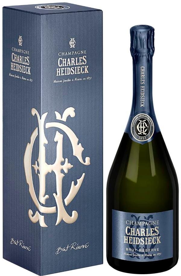 Charles Heidsieck Réserve Champagne Brut presentförpackning