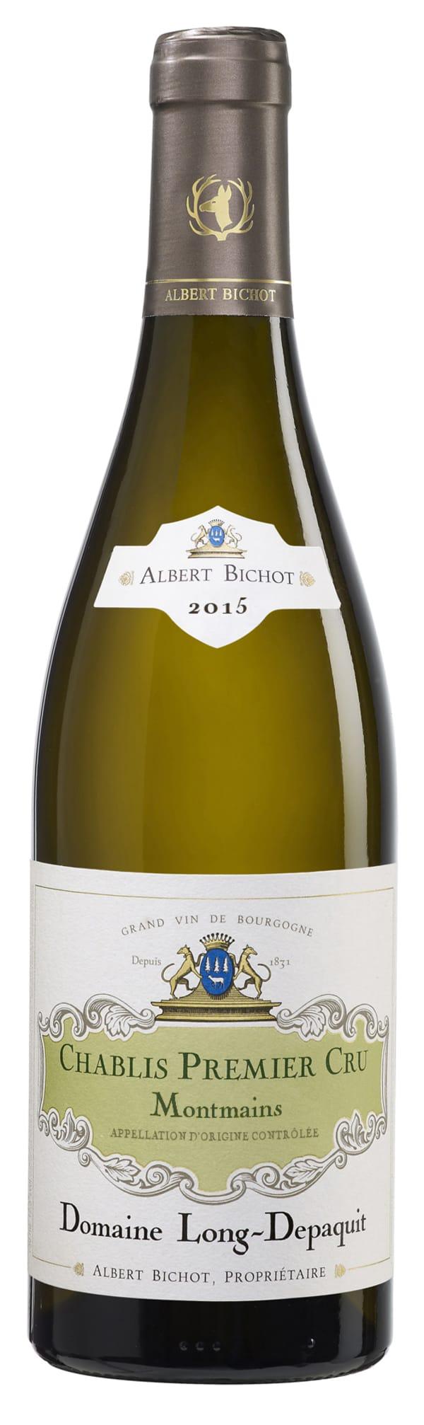 Albert Bichot Domaine Long-Depaquit Chablis 1er Cru Montmains 2015