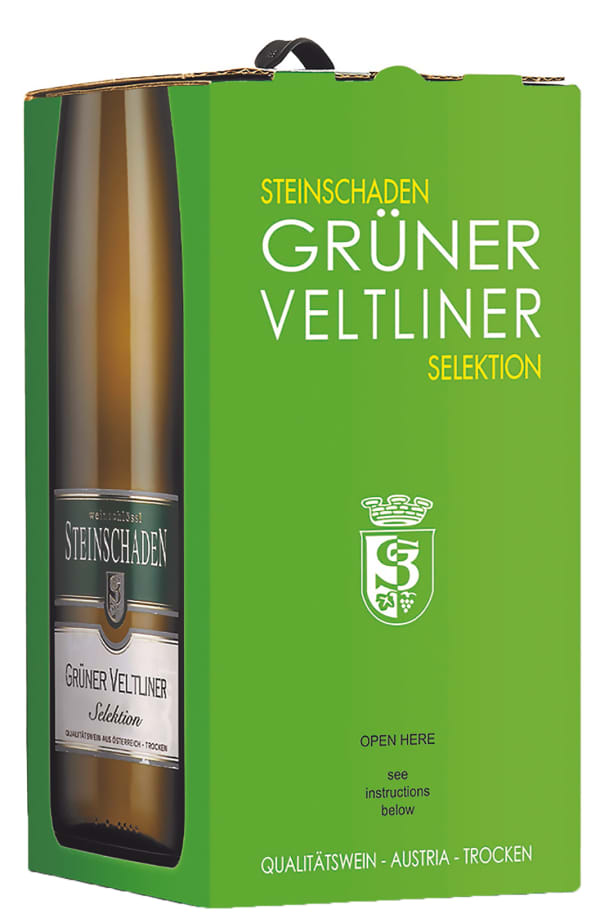 Steinschaden Selektion Grüner Veltliner 2018 bag-in-box