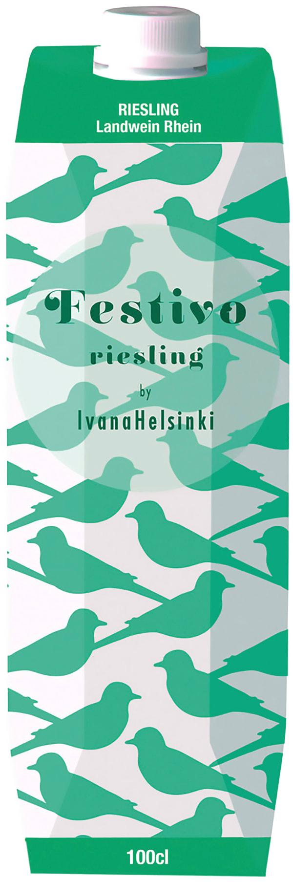 Festivo Riesling kartongförpackning