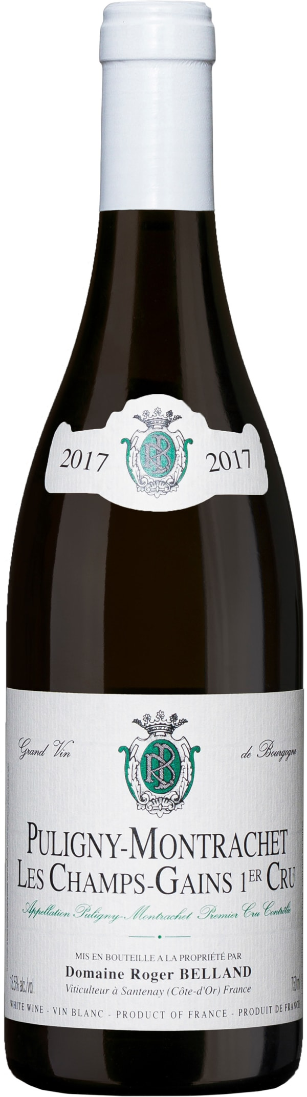 Domaine Roger Belland Puligny-Montrachet Les Champs-Gains 1er Cru 2017