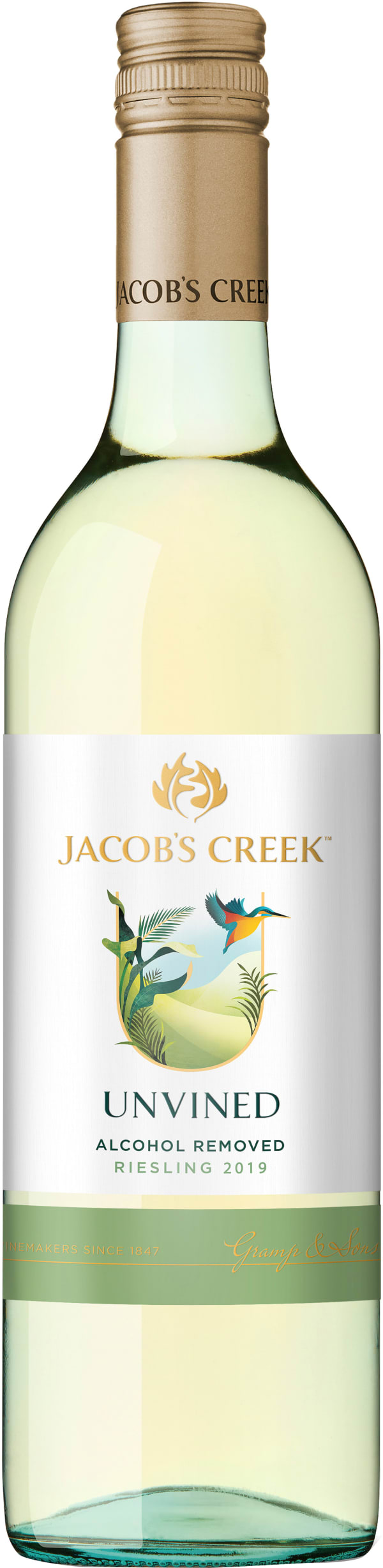Jacob's Creek UnVined Riesling 2019