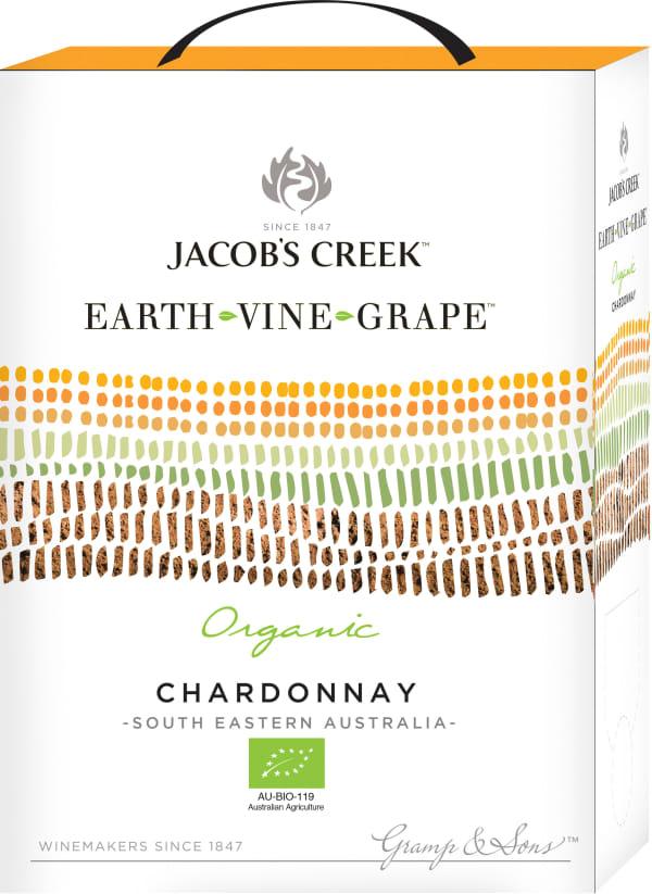 Jacob's Creek Earth Vine Grape Chardonnay 2017 lådvin