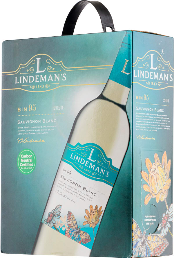 Lindeman's Bin 95 Sauvignon Blanc 2020 lådvin