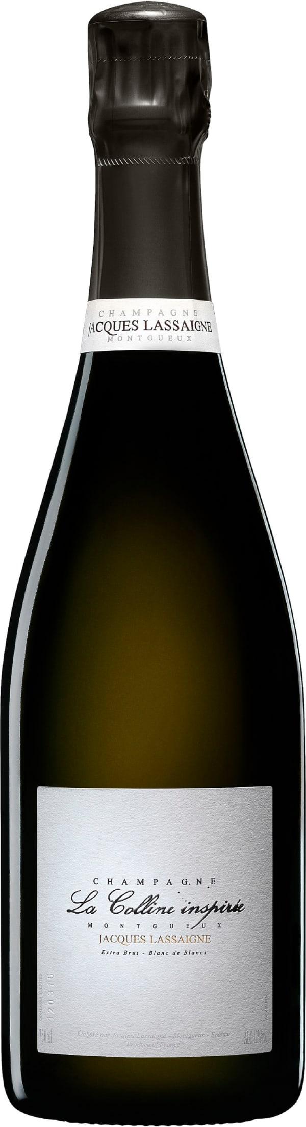 Jacques Lassaigne La Colline Inspirée Blanc de Blancs Champagne Extra Brut