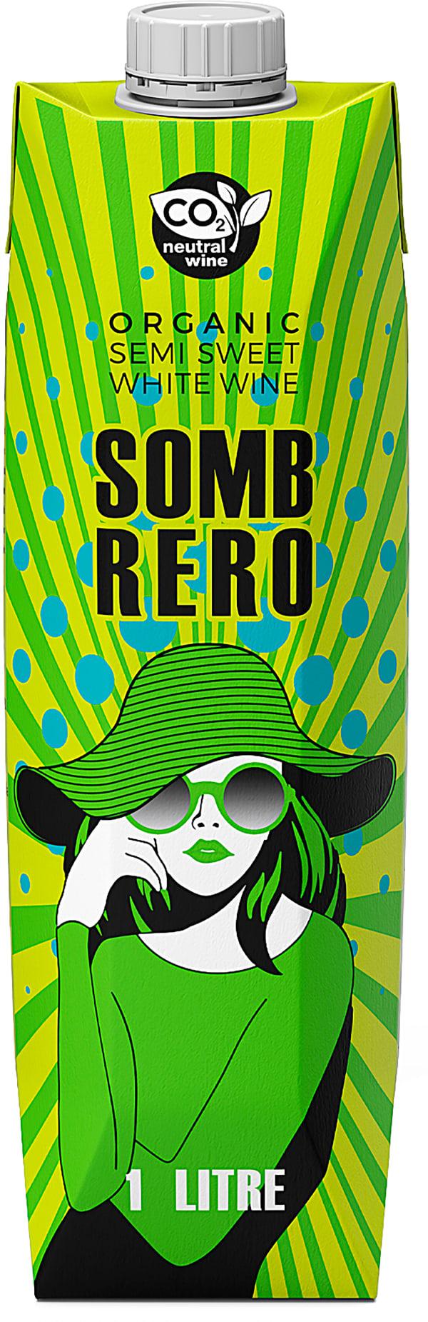 Sombrero Semi Sweet Organic 2020 carton package