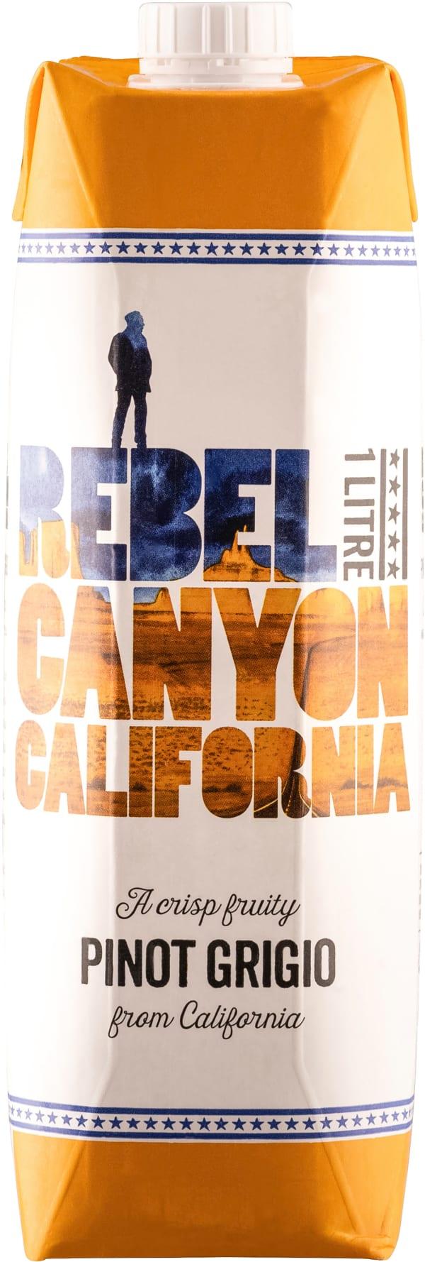 Rebel Canyon California carton package