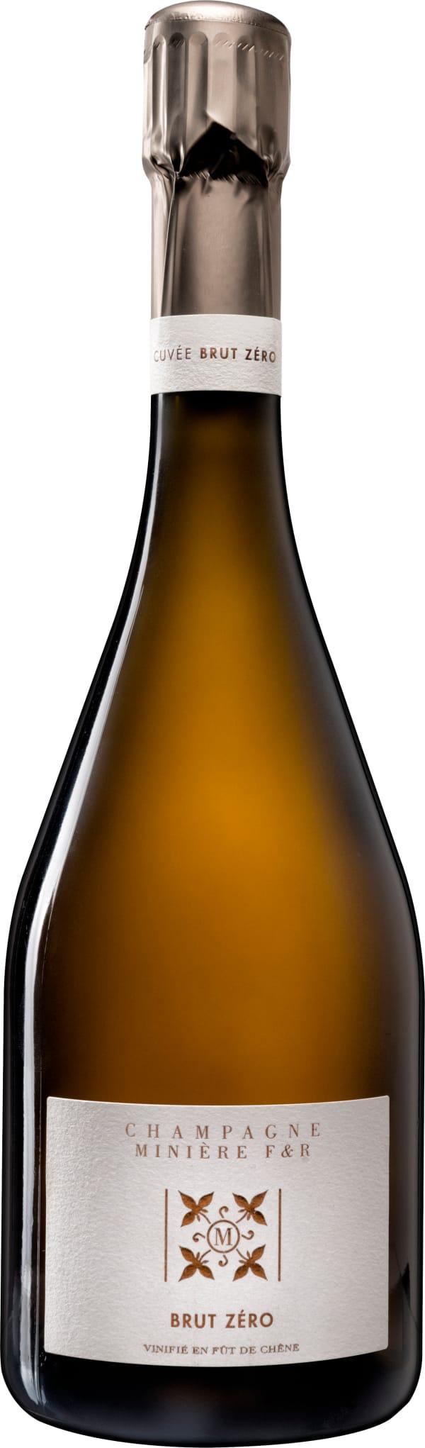 Minière F & R Champagne Brut Zéro