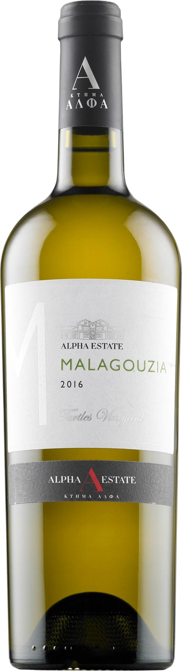 Alpha Estate Malagouzia Turtles Vineyard 2018