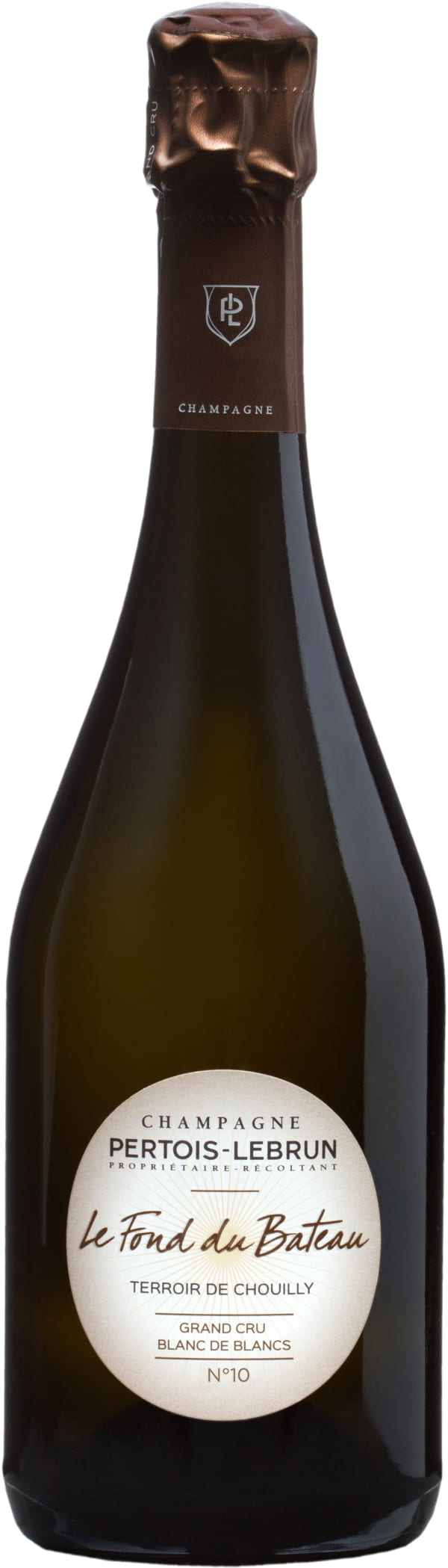 Pertois-Lebrun Le Fond du Bateau Grand Cru Blanc de Blancs Champagne Extra-Brut 2010