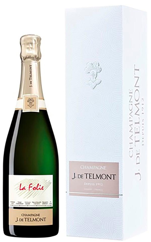 J. de Telmont La Folie Champagne Brut 2012