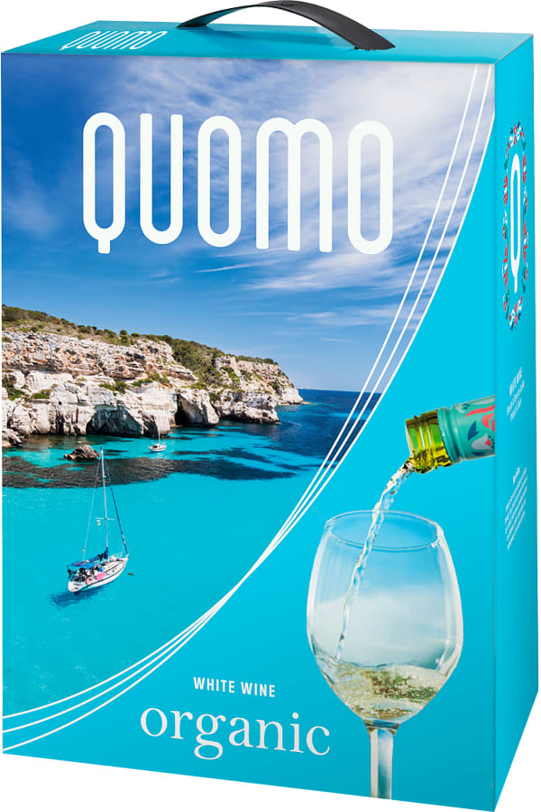Quomo Organic 2019 lådvin