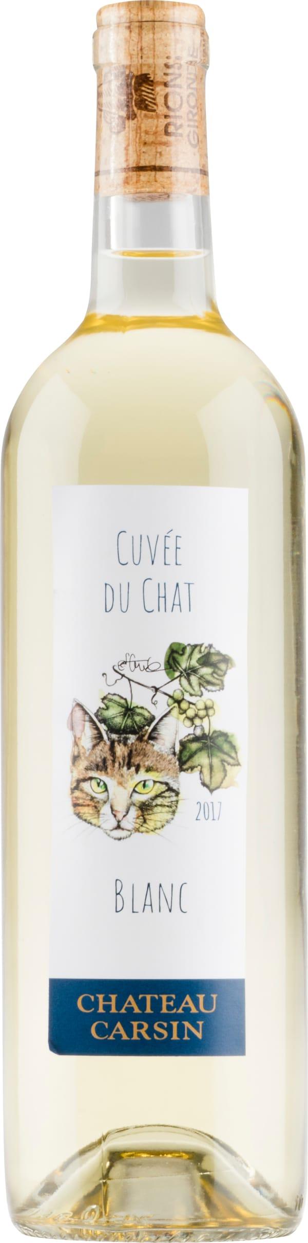 Château Carsin Cuvée du Chat Blanc 2018
