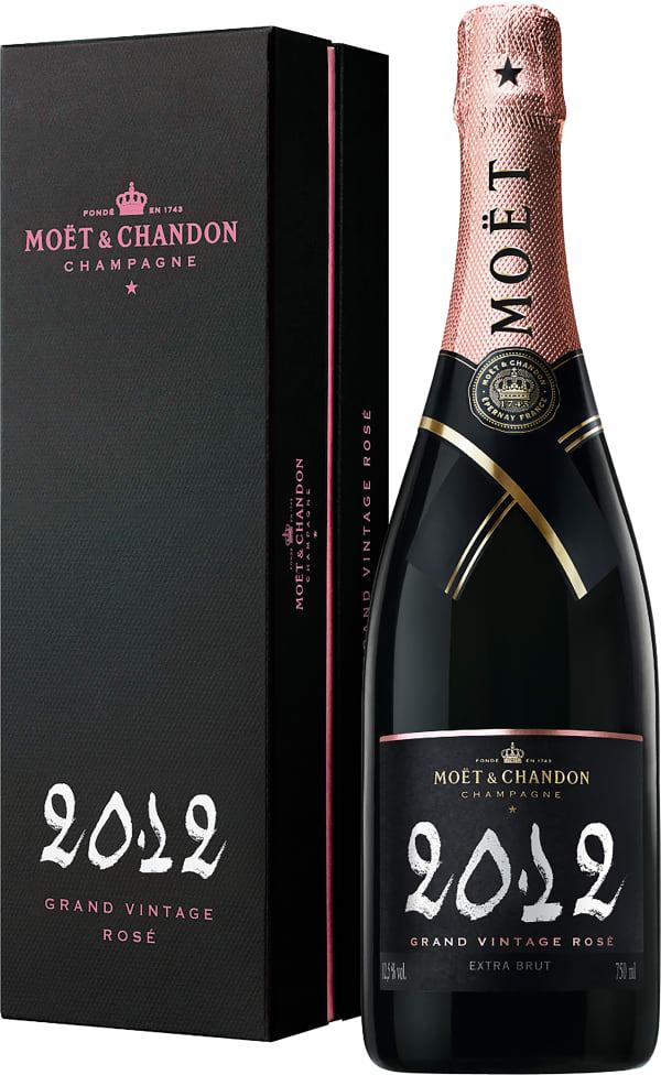 Moët & Chandon Grand Vintage Rosé Champagne Extra Brut 2012