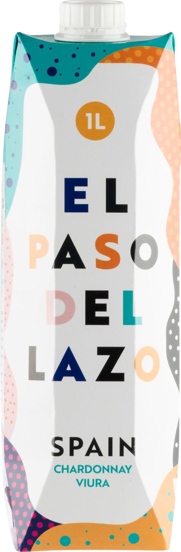 El Paso del Lazo Chardonnay Viura 2019 kartongförpackning