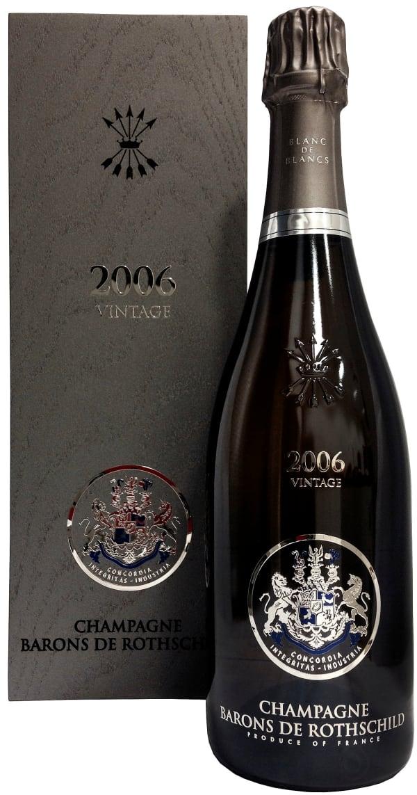 Champagne Barons de Rothschild Blanc de Blancs Vintage Champagne Brut 2006