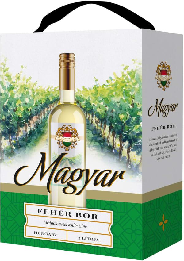 Magyar Fehér Bor hanapakkaus