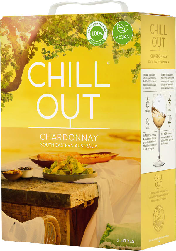 Chill Out Chardonnay Australia 2019 bag-in-box